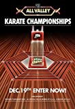 The Karate Kid Tournament All Valley Cobra Kai Poster 24x36 inches This is a Certified Print with Holographic Sequential Numbering for Authenticity