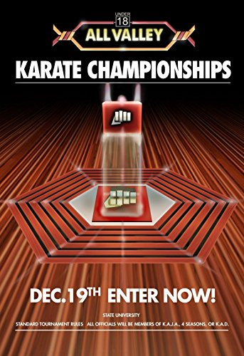 The Karate Kid Tournament All Valley Cobra Kai Poster 24x36