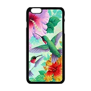 """Danny Store Hardshell Cell Phone Cover Case for New iPhone 6 Plus (5.5""""), Holly Hummingbird by mcsharks"""