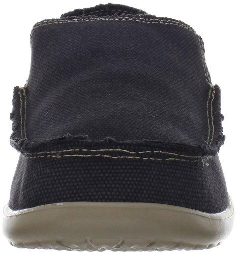 Crocs Santa Cruz - Zapatillas de deporte de tela para hombre Black/Khaki