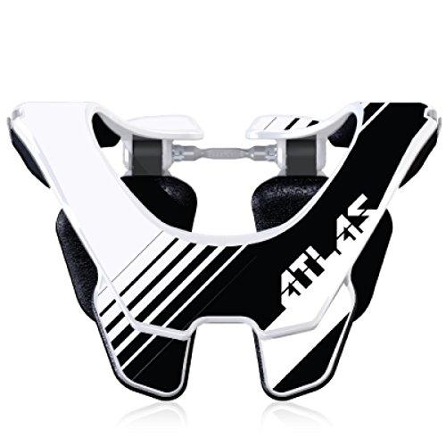 Atlas Prodigy Brace Youth Kid Neck Brace Oreo Black Motocorss MX Protection by Atlas