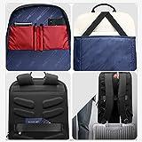 BOPAI 15 inch Super Slim Laptop Backpack Men Anti