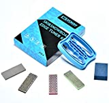 XCMAN Alpine Freeride Snowboard Edge Bevel Tuning Kit Edge Care Kit -Side Ski Angle Tool +3 diamonds +Gummi stone