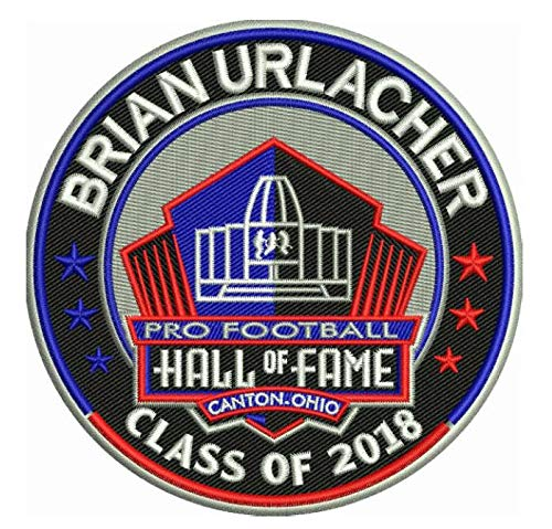 Football Brian Urlacher 2018 PRO Hall of Fame Patch Bears