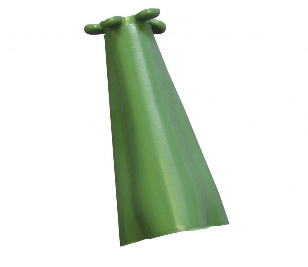 Elixir Gardens ® PYRAMID RUBBER CANE CAPS/GRIPS, BAMBOO CANES x 12