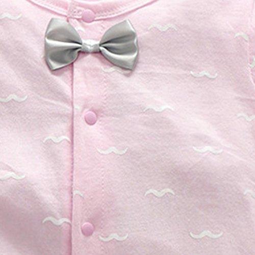 17c682c4f8ee Winsummer Newborn Baby Boy Girl One-Piece Footie Rompers Cotton ...
