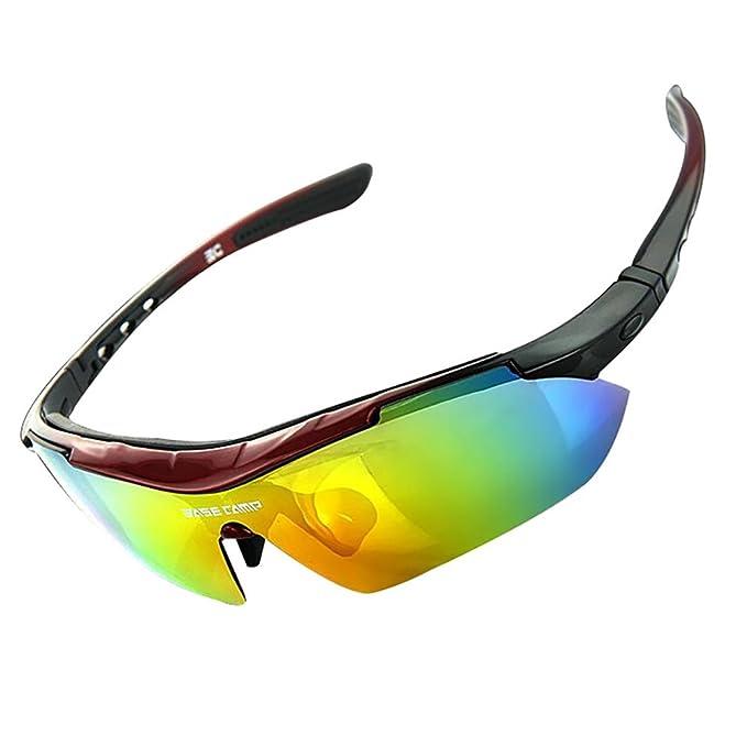 Vitalite antibuée pour vélo lunettes de soleil polarisées pour Sport en extérieur Blanc Noir/blanc v1pF8WBamZ