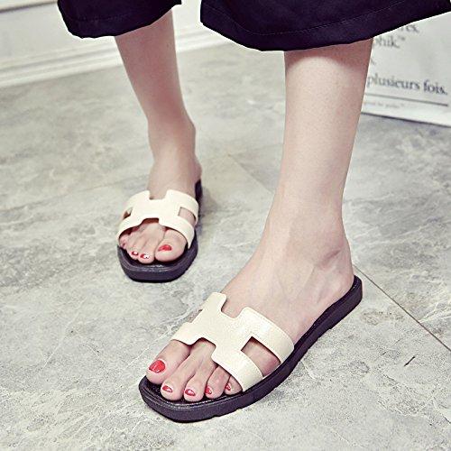 Chaussures - Sandalias de Vestir de Sintético Mujer Off White1