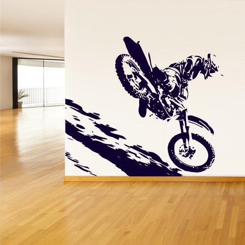 Amazoncom dirt bike removable wall decals dirt bike decals for