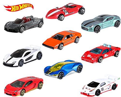 Mini Race Cars (Hot Wheels Amazon Mini 10-Pack #2 Vehicles [Amazon)