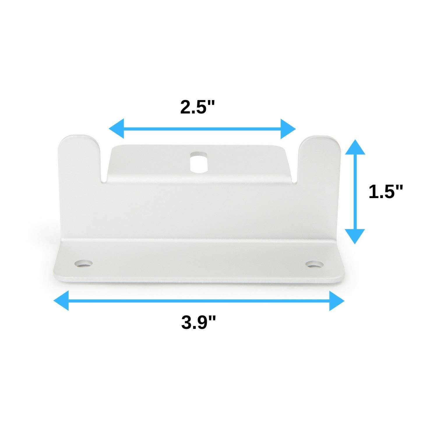 Houseables Solar Panel Mounting Brackets, Roof Panels Z Bracket, 2.5'' x 1.5'' x 3.9'', 4 Sets (16 Pc), Silver, Aluminum, Adjustable Mount Bolt Kit, Accessories for Boats, Wind Generators, RVs, Trailers by Houseables (Image #2)