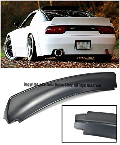 EOS Body Kit Rear Wing Spoiler - Nissan 240SX S13 Hatchback 89-94 1989 1990 1991 1992 1993 1994