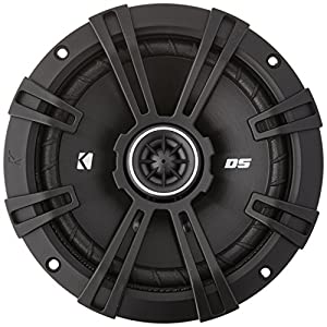 "2) Kicker 43DSC6504 6.5"" 240 Watt 2-Way 4-Ohm Car Audio Coaxial Speakers DSC6504"