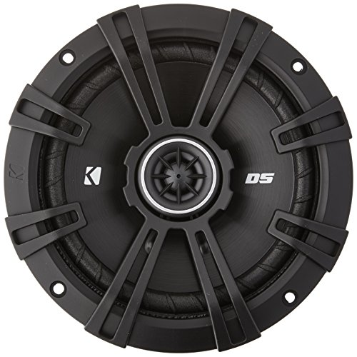 Kicker DSC650 DS Series 6.5 4-Ohm Coaxial Speakers - Pair