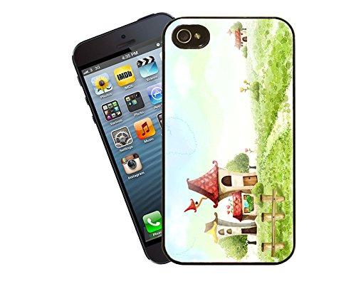 Spielen Land Telefon Fall - diese Abdeckung passt Apple Modell iPhone 5 / 5 s (nicht 5c) - von Eclipse-Geschenk-Ideen