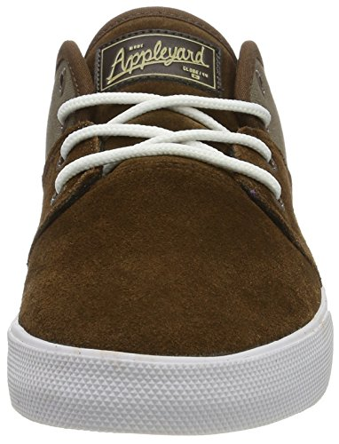 Globe Gbmahalo, Zapatillas Hombre Marrón (Dark Earth/Marron Walnut)