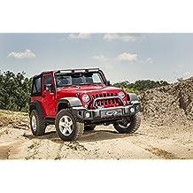 Rugged Ridge 11544.02 Satin Black Overrider for Jeep Wrangler JK