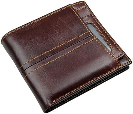 Itslife Men's RFID Blocking Leather Wallet