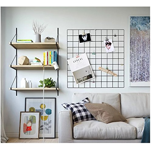 wall grid organizer kleanner metal wire mesh grid panel mesh memo board wall 3311