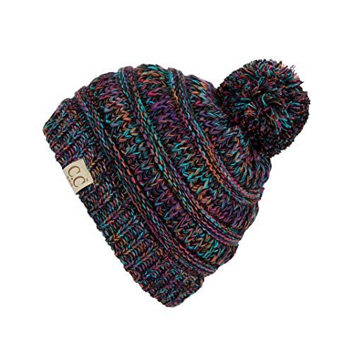 ScarvesMe CC Kids Baby Toddler Ribbed Knit Children's Winter Hat Beanie Cap (32)