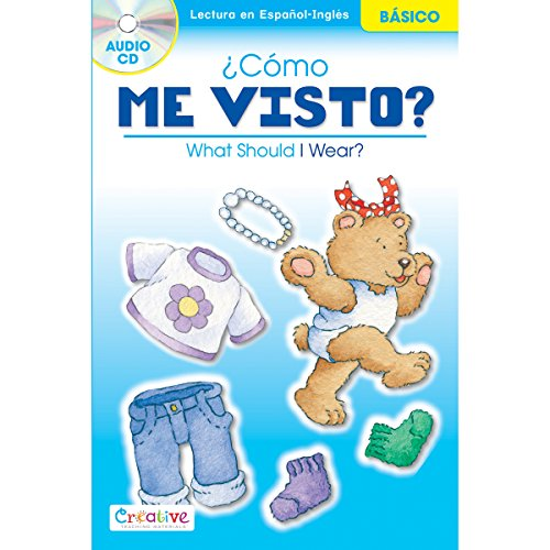 Pbs Publishing Paper Creative Teaching Materials Spanish-English Book with CD-What Should I Wear? ()