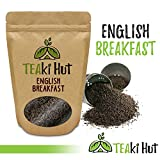 Organic English Breakfast Tea 6 Ounce (9 Servings): 3 Time Award Winning Loose Leaf Black Tea  A Full Bodied, Smooth and Malty Kick Start To Your Morning Black Tea