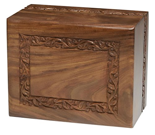 Urn Pets Hand Carved Rosewood Classic