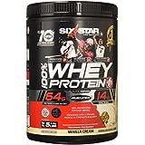 Six Star Pro Nutrition 100% Whey Protein Plus, 32g Ultra-Pure Whey Protein Powder, Vanilla, 5 Pound