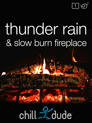 Thunder Rain & Slow Burn Fireplace