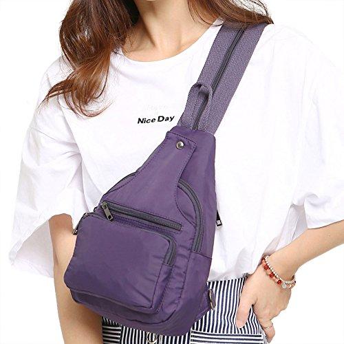 violet BMKWSG pour Main Dos porté à Sac Bleu au Femme Bleu rEZwqrvYf