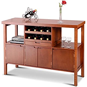 Amazon Com Winsome 94746 Diego Dining Brown Buffets
