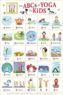 The ABCs of Yoga for Kids Poster (0982258712) | Amazon Products