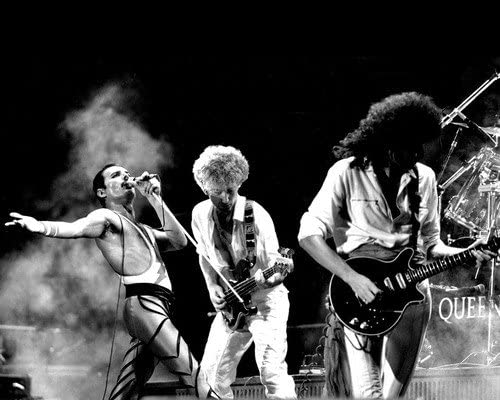 "Queen Freddie Mercury Brian May  14 x 11/"" Photo Print"