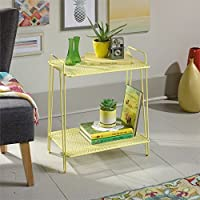 Sauder Eden Rue End Table in Yellow
