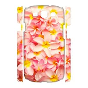 Red Hawaii Flower Unique Design 3D Cover Case for Samsung Galaxy S3 I9300,custom cover case ygtg607107