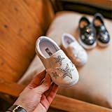 Toddler Girls Starry Fish Scale Embossed Slip On