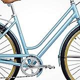 Gama Bikes Womens Metropole Step-Thru 8 Speed Shimano Hybrid Urban Cruiser Commuter Road Bicycle, 700c wheels