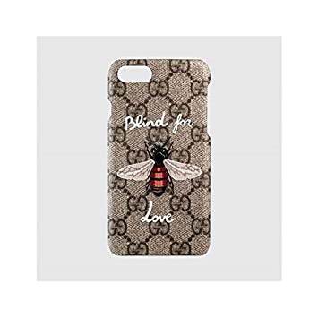 wholesale dealer 7a886 817cd Amazon | GUCCI(グッチ) iPhone7 アイフォン7 ケース カバー ...
