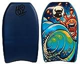 662 Brophy Graphic Kickboard, Dark Blue, 21''