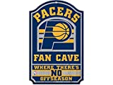 NBA Indiana Pacers 38390012 Wood Sign, 11'' x 17'', Black