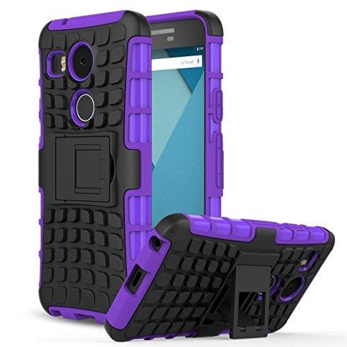 LG Nexus 5x Back Cover Case [Chevron ChevBrid Official Case] - Urban Blue