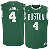 Isaiah Thomas Boston Celtics Green NBA Youth Adidas Revolution 30 Replica Jersey (Small 8)