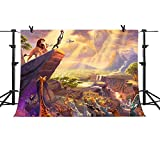 MME 7x5Ft Forest Lion King Simba Cartoon Background Video Studio Photo Backdrop GYMM208