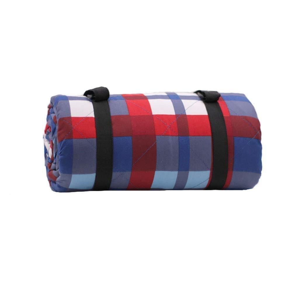 ZKKWLL Picnic Blanket Waterproof Outdoor Blanket Picnic mat Oxford Cloth Moisture pad Outdoor Camping Tent mat Floor mat 2 m 2 m Picnic mat (Color : B) by ZKKWLL