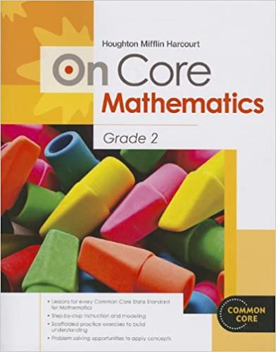 Houghton Mifflin Harcourt On Core Mathematics: Student Workbook ...