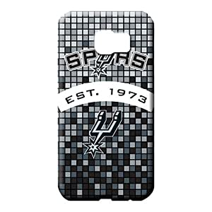 samsung galaxy s6 Slim Fashion Protective Cases phone carrying skins san antonio spurs nba basketball