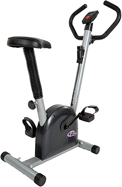 TecTake Maquina Fitness Bicicleta estatica | con Monitor: Amazon ...