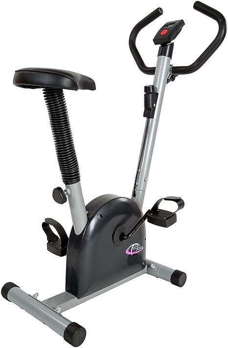 TecTake Maquina Fitness Bicicleta estatica | con Monitor: Amazon.es: Deportes y aire libre
