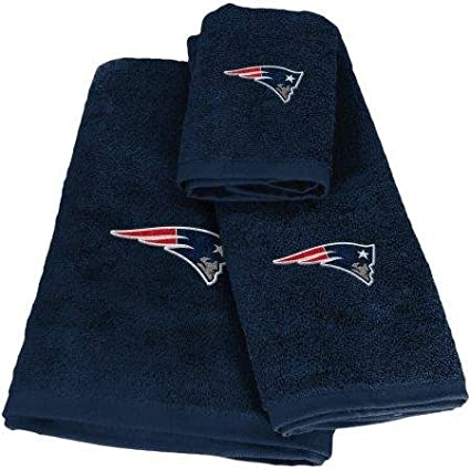 Northwest 1NFL942003076WMT NFL 942 Patriots Shower Curtain Rings New England Decorative Bath Collection