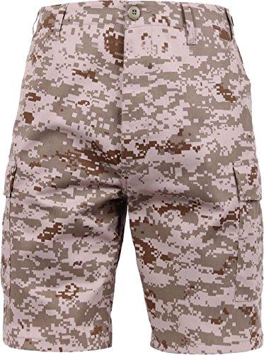 - Mens Desert Digital Camouflage Military BDU Cargo Shorts